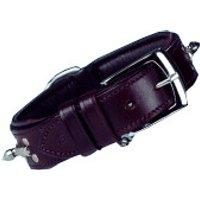 Nobby Delgado leather dog collar (60 cm / 50 mm )