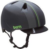 Bern Nino matt black Racing Stripe