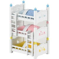 Sylvanian Families Triple Bunk Beds