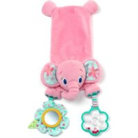 Bright Starts Pretty In Pink Cuddly Carrier Pals