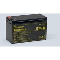 Graupner 1x Lead Battery 12 V 7000 mAh