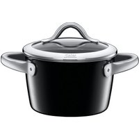 Silit Vitaliano Nero Casserole With Lid 16 cm