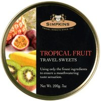 Simpkins Tropical Fruit Travel Sweets (230 g)