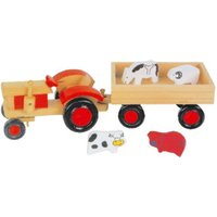 Legler Wooden Tractor and Trailer (7158)
