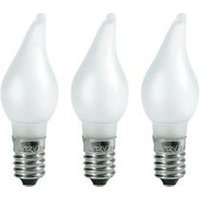 Konstsmide 3 x Frosted Replacement Bulb 3W E10 (2691-230)