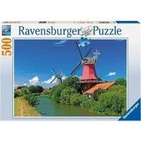 Ravensburger Romantic Windmills (500 pieces)