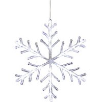 Konstsmide LED Snowflakes Cool White (4440-203)