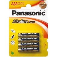 Panasonic Alkaline Power 4x AAA Micro LR03 (Blister) 1,5V