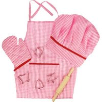 Bigjigs Chef's set - pink