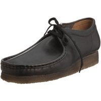 Clarks Wallabee Black Leather