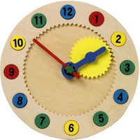 Legler Educational Clock with Magnetic Numerals