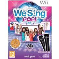 We Sing: Pop! + 2 Microphones (Wii)