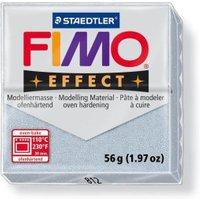 Fimo Soft Polymer Clay Metallic Silver 2 Ounces
