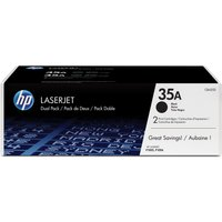 HP 35A Black (CB435AD) Dual Pack