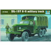 Trumpeter ZIL-157 6x6 military truck (01001)