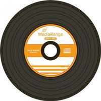 MediaRange CD-R 700MB 80min 52x Vinyl 50er Cakebox (MR225)