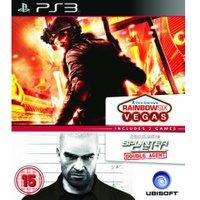 Rainbow Six: Vegas + Splinter Cell: Double Agent - Double Pack (PS3)