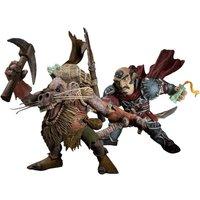 DC Comics World of Warcraft - Series 8 - Gnome Rogue vs. Kobold Miner