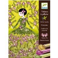 Djeco Glitter Dresses Glitter Boards