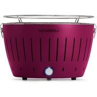 LotusGrill Charcoal Barbecue Plum