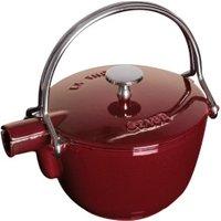 Staub Round Teapot - Kettle 1QT Grenadine 1.15L