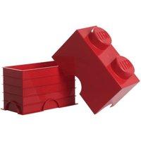 LEGO Storage Box 1 x 2 (Red)