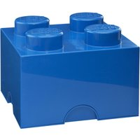 LEGO Storage Brick 4 Studs Blue
