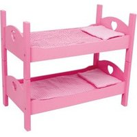 Small Foot Design Single or Bunk Cot Bed Toy with Bedding (2871)