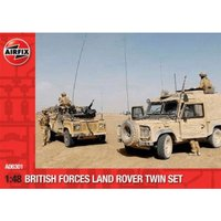 Airfix British Forces Land Rover Twin (A06301)