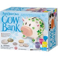 4M Paint Your Own Cow Bank 00-04512