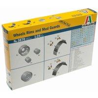 Italeri Wheels Rims and Mud Guards (3870)