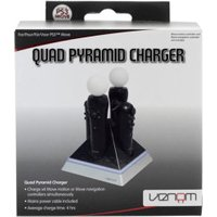 Venom PS3 Move Quad Pyramid Charger