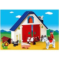Playmobil 1.2.3 - Animal Farm (6740)