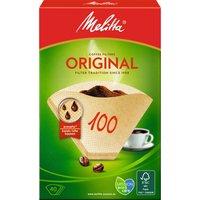Melitta Filter Paper Original 100/40 natural brown