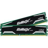Crucial Ballistix Sport 16GB Kit DDR3 PC3-12800 CL9 (BLS2CP8G3D1609DS1S00CEU)