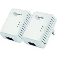 Allnet 500 Mbps HomePlug AV Mini Adapter Starter Kit (ALL168250DOUBLE)