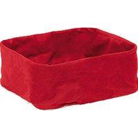 Blomus Desa Cotton Bag for Bread Basket Large Red