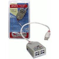 Lindy USB 2.0 Smart Hub 4 Port Bus-powered