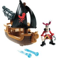 Fisher-Price Jake and the Neverland Pirates Hook's Battle Boat