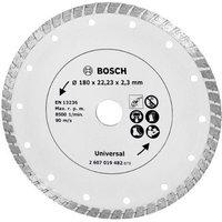 Bosch 2607019482 Disque Diamant Pour Meuleuse Turbo 180 Mm