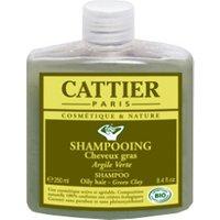 Cattier Oily Hair Shampoo Green Clay (250 ml)