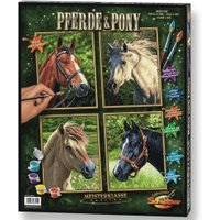 Schipper Paint By Numbers - Horses & Pony