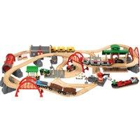 Brio Wooden Railway Deluxe Railway Train Set (33052)