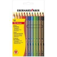Eberhard Faber Tri-Winner Col Pencil Triang Card