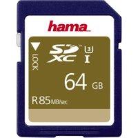 Hama SDXC UHS-I U3 85MB/s - 64GB (00114949)