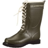 Ilse Jacobsen 3/4 Rubber Boot Green