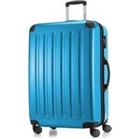 Hauptstadtkoffer 4 Wheel Hard Shell Trolley 75cm metallic blue TSA