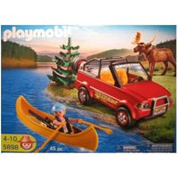 Playmobil 4-Wheel Drive with Canadier (5898)