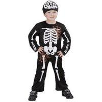 Widmann Lil' Skeleton Costume Baby