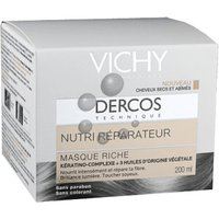Vichy Dercos nutri réparateur rich mask (200 ml)